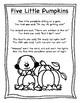 October Poetry Kindergarten & First Grade