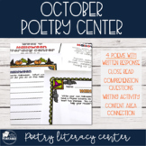 October Poetry Literacy Center