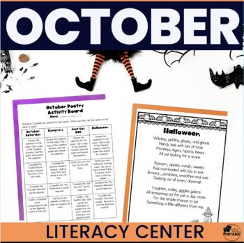 October Poetry Literacy Center