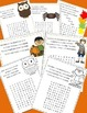 October Poetry, Word Searches, Fall Theme, With Original P