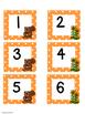 October Polka Dot Calendar Set