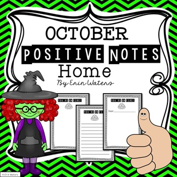 October Positive Notes Home