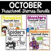 October Preschool Themes Packet