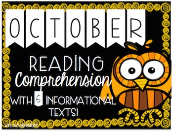 October Primary Informational (Non-Fiction) Text Pack {#TeacherMom}