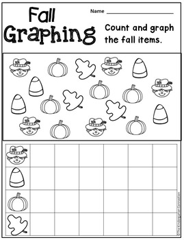 October Print-That's It! Kindergarten Math and Literacy Printables
