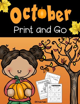 October: Print and Go Activities