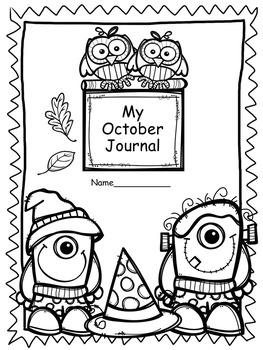 October Print and Go Journal Prompts