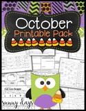 October Printable Pack