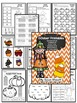 October and November Themed Printables - Math and Word Wor