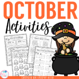 October Activities | Halloween Activities