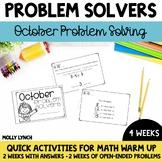 October Problem Solving