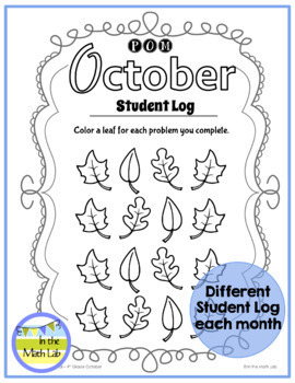 October Problems of the Month (POM) Math Pack - 4th Grade