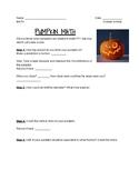 October Pumpkin Activity