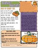 October Pumpkin Newsletter