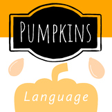 October - Pumpkin Read and Draw Sentence Books!