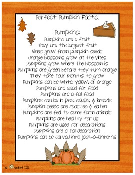 October Pumpkin  Writing for Explanatory & Narrative Stories That Shine!