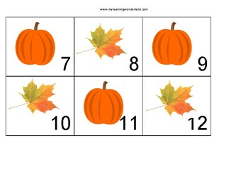 October Pumpkin and fall leaves Calendar Covers