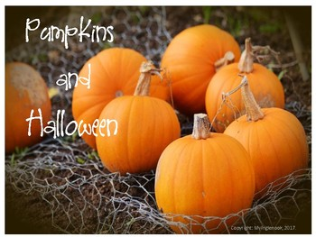 October Pumpkins and Halloween Vocabulary Lesson Plans