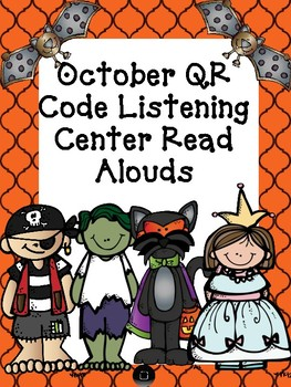 October QR Code Read Aloud Listening Centers