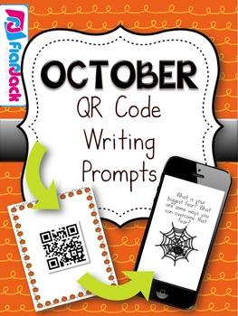 October QR Code Writing Prompts