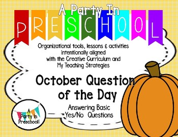 October Question of the Day based on My Teaching Strategies