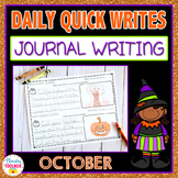 October Quick Writes (Daily Journal Writing Prompts)