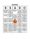 October READO Bingo Board