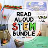 October Halloween Read Aloud Lessons and Halloween STEM Activities BUNDLE