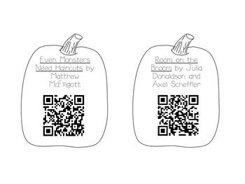 October Read Aloud QR Codes