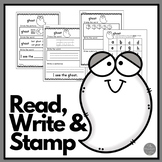 October: Read Write and Stamp! Set 2