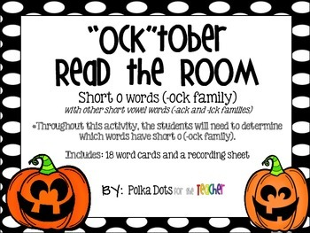 October Read the Room