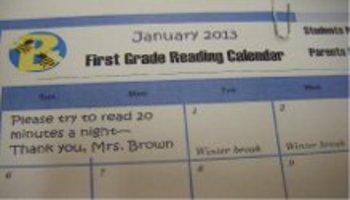 October Reading Calendar