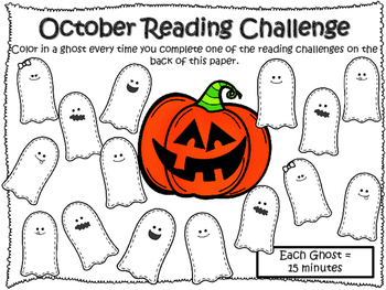 NO PREP October Reading Challenge!