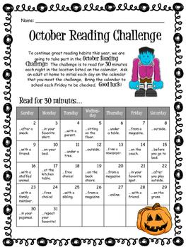 October Reading Challenge