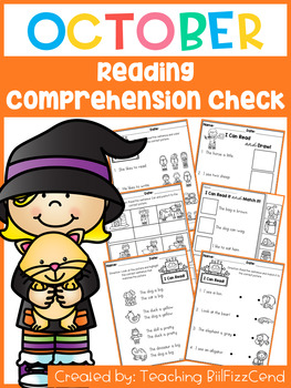 October Reading Comprehension Check