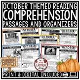 October Reading Comprehension Passages 4th Grade, 3rd Grade Reading Passages
