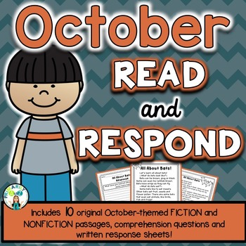 October Reading Comprehension & Written Response