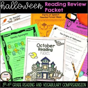October Reading/ELA Review Packet