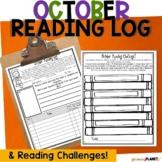 October Reading Logs   Reading Responses   Reading Challenge