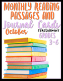 October Reading Passages