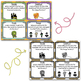 October Reading Spinner Choice Boards & Task Cards Bundle