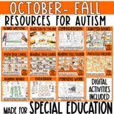 October Resources for Special Education