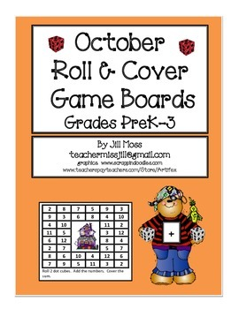 October Roll And Cover Gameboards