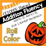 October Roll and Color Addition Fluency