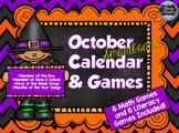 October SMARTboard Calendar and Games!