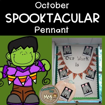 October SPOOKTACULAR Pennant