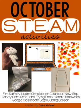 October STEAM Activities