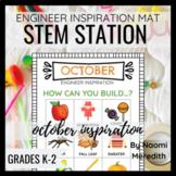 October STEM Activities | Engineer Inspiration | Printable