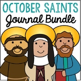 October Saints BUNDLE of Notebook Journal Projects, Cathol