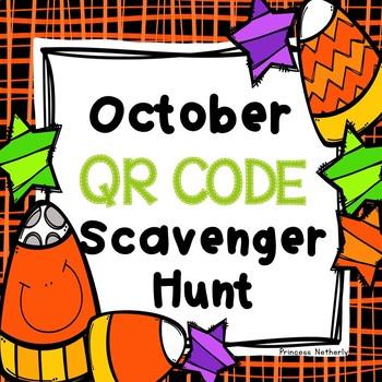 October Scavenger Hunt